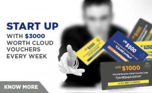 Nominate yourself, qualify and win up to $3000 worth cloud vouchers