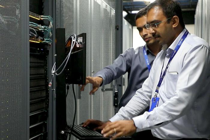 Yotta Server room